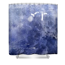 Pacific Bloom Shower Curtain by Christopher Gaston