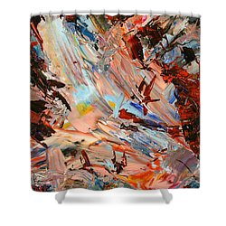 Paint Number 36 Shower Curtain by James W Johnson