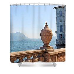 Palazzo Borromeo Shower Curtain by Joana Kruse