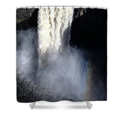 Palouse Falls Shower Curtain by Sharon Elliott