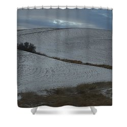 Palouse Winter 1 Shower Curtain by Mary McInnis