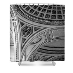 Pantheon Arches Shower Curtain by Sebastian Musial