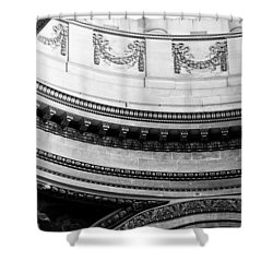 Pantheon Dome Shower Curtain by Sebastian Musial