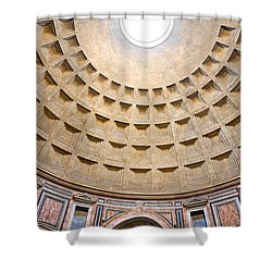 Shower Curtain featuring the photograph Pantheon  by Luciano Mortula