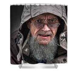 Pappy Shower Curtain