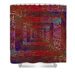 Paradigm Shift Shower Curtain by Tim Allen