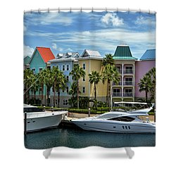 Shower Curtain featuring the photograph Paradise Island Style by Steven Sparks