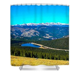 Shower Curtain featuring the photograph Paradise by Shannon Harrington