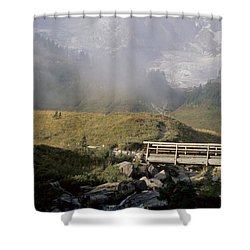 Paradise Valley Shower Curtain by Sharon Elliott