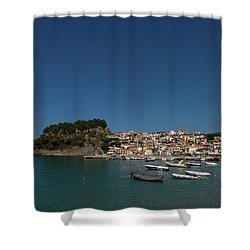 Parga  Shower Curtain by Jouko Lehto