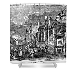 Paris: Street, 1830s Shower Curtain by Granger