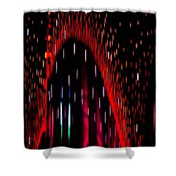 Particulated Arch Shower Curtain by Christopher Holmes