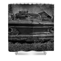 Party Seeds  Shower Curtain by Jerry Cordeiro