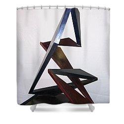 Paso Doble Shower Curtain by John Neumann
