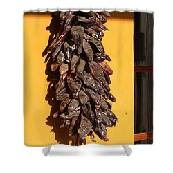 Paso Peppers Shower Curtain