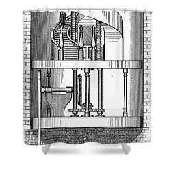 Passenger Elevator, 1876 Shower Curtain by Granger
