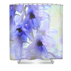 Passion For Flowers. Blue Dreams Shower Curtain by Jenny Rainbow