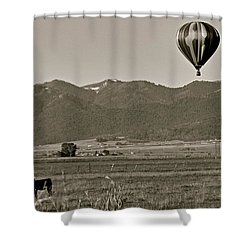 Shower Curtain featuring the photograph Pastoral Surprise by Eric Tressler