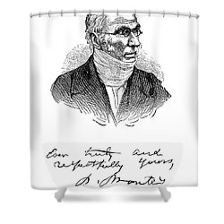 Patrick Bront� (1777-1861) Shower Curtain by Granger