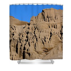 Patterns In The Sand No. 1 Shower Curtain by Smilin Eyes  Treasures