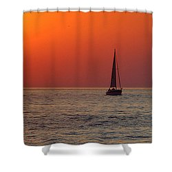 Peace And Tranquility Shower Curtain by Frozen in Time Fine Art Photography