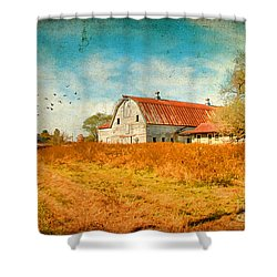 Peaceful Day's Shower Curtain by Darren Fisher