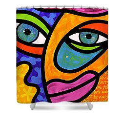 Penelope Peeples Shower Curtain