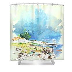 Peniche In Portugal 10 Shower Curtain by Miki De Goodaboom