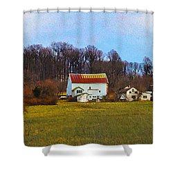 Pennsylvaina Farm Scene Shower Curtain by Bill Cannon