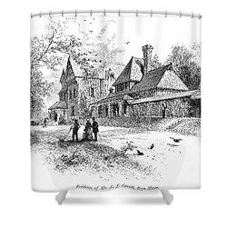 Pennsylvania: House, 1876 Shower Curtain by Granger