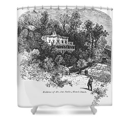 Pennsylvania: House, C1876 Shower Curtain by Granger