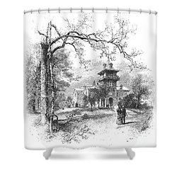 Pennsylvania: Mansion Shower Curtain by Granger