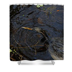 Perfect Catch Shower Curtain by David Lee Thompson