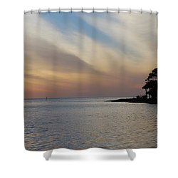 Perfect Florida Finish Shower Curtain