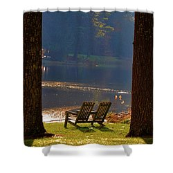 Perfect Morning Place Shower Curtain by Bill Cannon