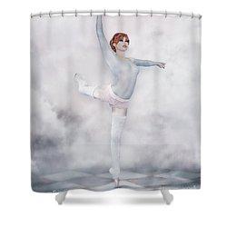 Perfection Shower Curtain by Jutta Maria Pusl