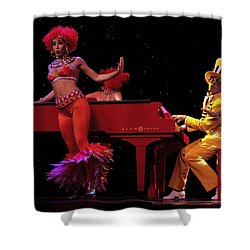 Performance 2 Shower Curtain by Bob Christopher