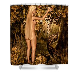 Persuaded Shower Curtain