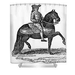 Peru: Colonial Overseer Shower Curtain by Granger