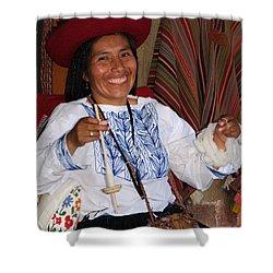 Peruvian Weaver Shower Curtain