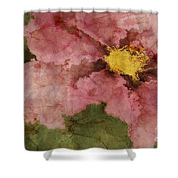 Petaline - Ar01bt05 Shower Curtain by Variance Collections