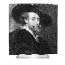 Peter Paul Rubens Shower Curtain by Granger