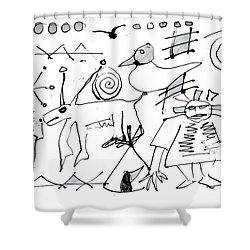 Petroglyph 1 Shower Curtain