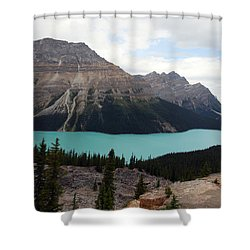 Peyto Shower Curtain