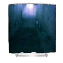 Phantasm Shower Curtain by Andrew Paranavitana
