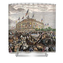 Philadelphia Expo, 1876 Shower Curtain by Granger