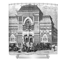 Philadelphia: Museum, 1876 Shower Curtain by Granger