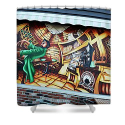 Piano Man 3 Shower Curtain by Bob Christopher