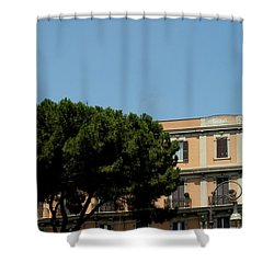 Piazza Cavour Shower Curtain