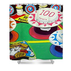Pinball Wizard Shower Curtain